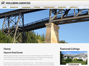 Mollberg Agencies Website