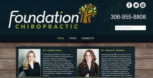 Foundation Chiropractic screenshot