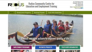 Radius Community Centre screenshot
