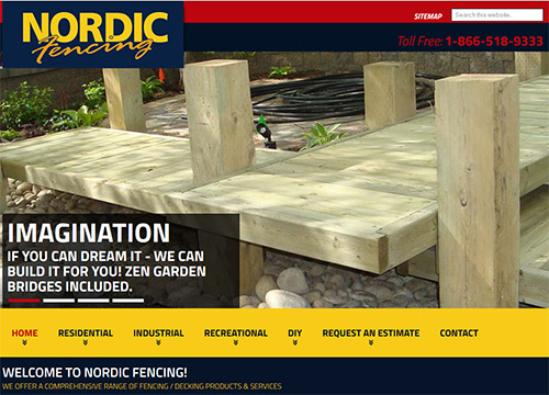 Nordic fence by OmniOnline