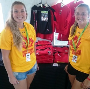 Rugby Merchandise Tent