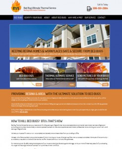 BTUs radically improved Website by OmniOnline