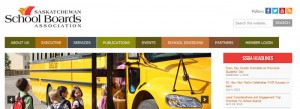 Saskschoolboards website by OmniOnline