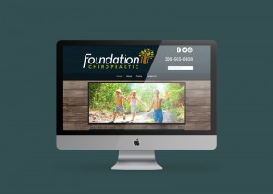 Foundation Chiropractic Website by OmniOnline