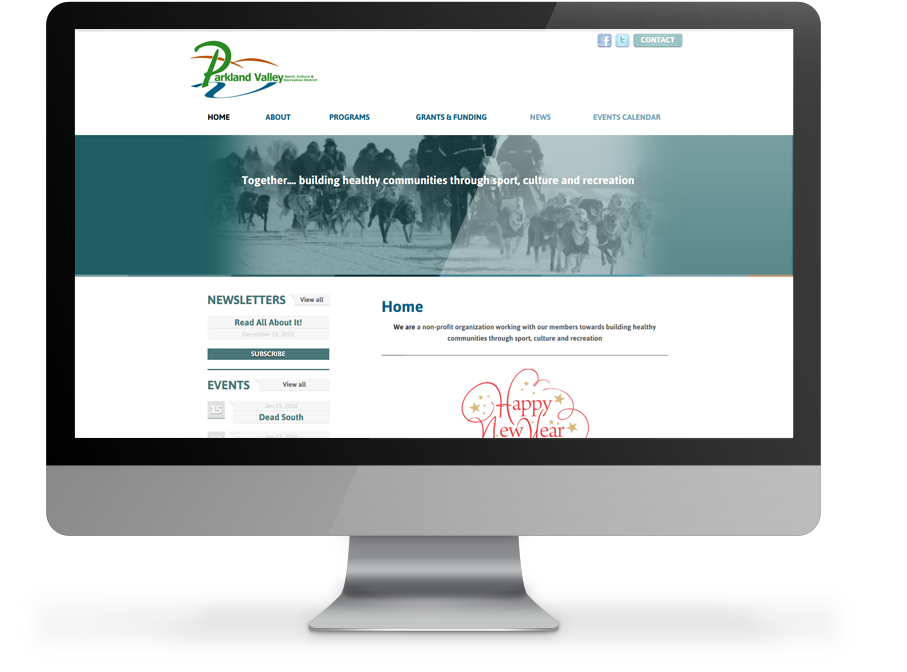 Parkland Valley Responsive Website by OmniOnline Regina
