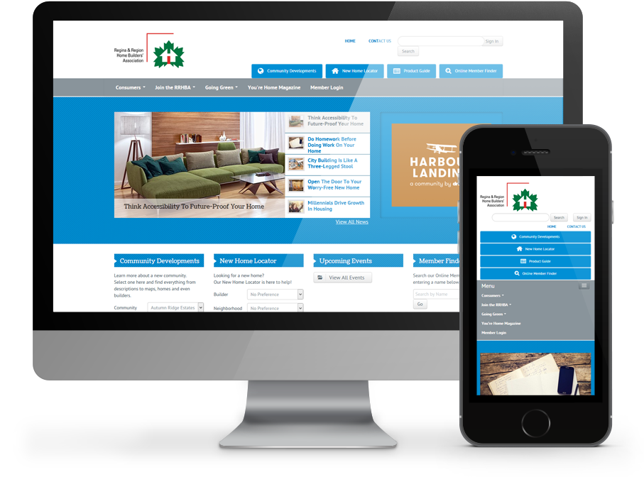 RRHBA Business Website by OmniOnline Regina