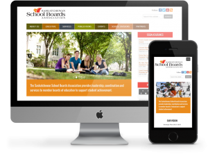 Saskatchewan School Boards Assocation Business Website by OmniOnline