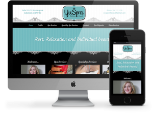 YuSpa Business Website by OmniOnline