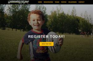Regina Mini Rugby website by OmniOnline