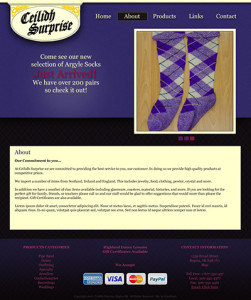 Ceilidh Surprise 2012 redesign by OmniOnline