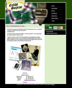 old ceilidh surprise website from before 2012