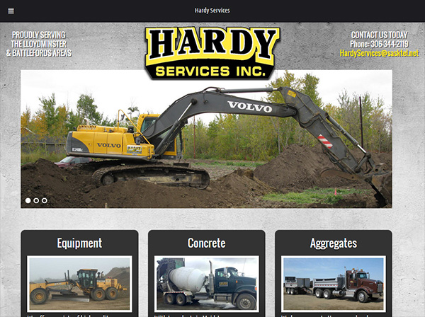 Hardy Services launches new OmniOnline website