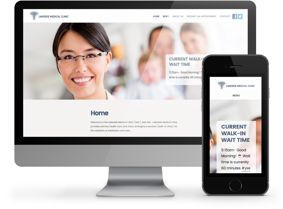 Lakeside Medical Services Website by OmniOnline, Regina SK