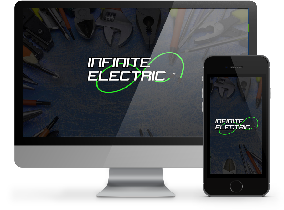 ininite electric - responsive website by OmniOnline
