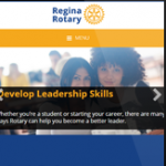 Regina Rotary Launches New Website