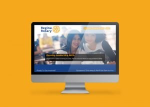 Rotary Regina Launches New Responsive Website