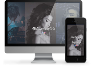 Midtown Stylists responsive website by OmniOnline, Regina