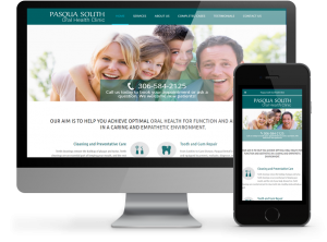 Pasqua South Dental - Responsive Website by OmniOnline Regina