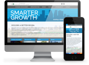 Smarter Growth Regina - Responsive Website by OmniOnline