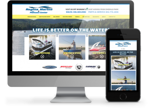 Regina Marine Website by OmniOnline