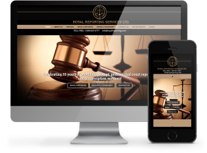 Royal Reporting Services Website by OmniOnline