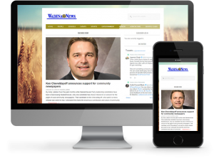 Wadena Online Newspaper - Built by OmniOnline of Regina