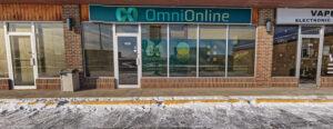 OmniOnline Business Frontage in Regina Sk