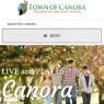 Canora Launches New Website
