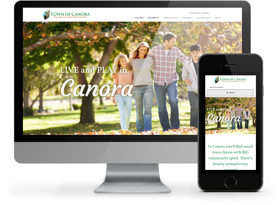 Canora resonsive website by OmniOnline