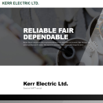 Kerr Electric launches New Website