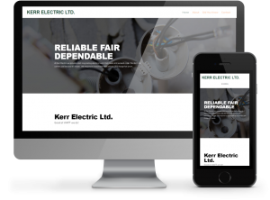 Kerr Electric website by OmniOnline