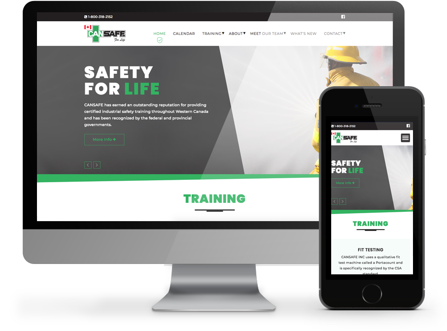 Busines Website for Cansafe by OmniOnline Regina