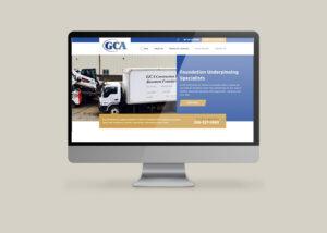 GCA Construction Regina - Website by OmniOnline