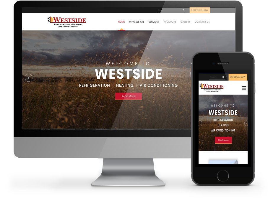 Westside Refrigeration Heating and Air Conditioning Web Design By OmniOnline