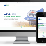 Weyburn economic development website by OmniOnline