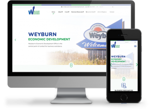 Weyburn economic development website by OmniOnline