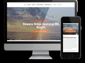 Rowans Ridge RV Resort Business Website by OmniOnline