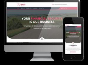 Cherry Financial - Saskatoon Website by OmniOnline