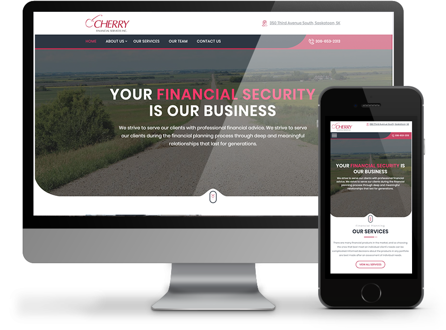 Cherry Financial - Saskatoon Website by OmniOnline