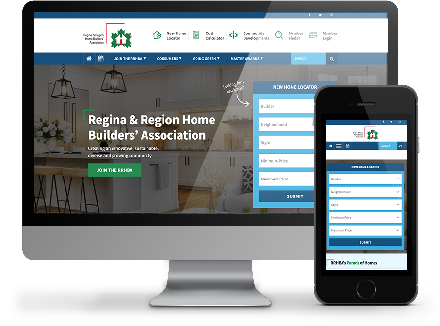Regina Home Builders Regina Website by Omnionline