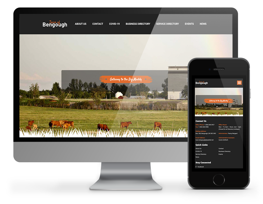 Town of Bengough website by Omnionline