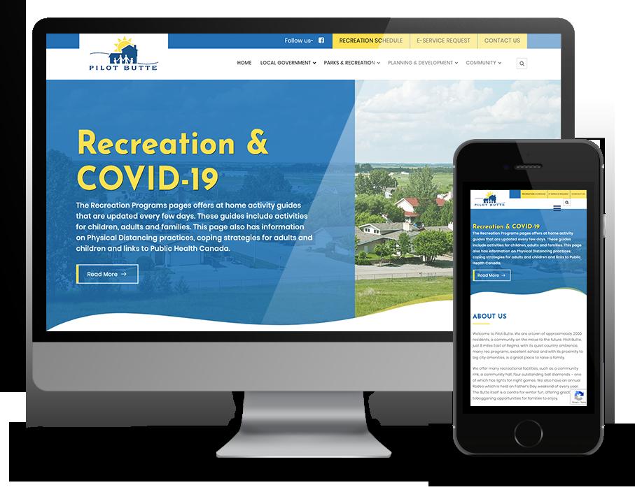Pilot Butte Municipal Website by OmniOnline