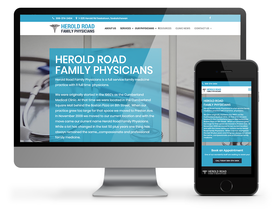 Herold Road Medical Office Saskatoon - Built by OmniOnline