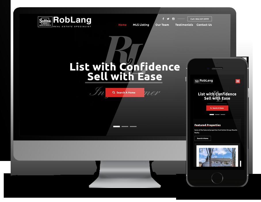 ROb Lang Realty Website - by OmniOnline - Regina